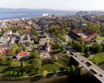 Trondheim from the Air